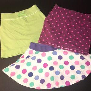 Girls Skirts (3) Bundle Lot Size 5/5T